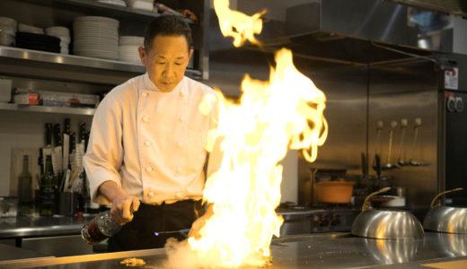 JR廿日市駅近くの鉄板焼き専門店 目の前で本格調理を楽しめる【てっぱん吉吉】