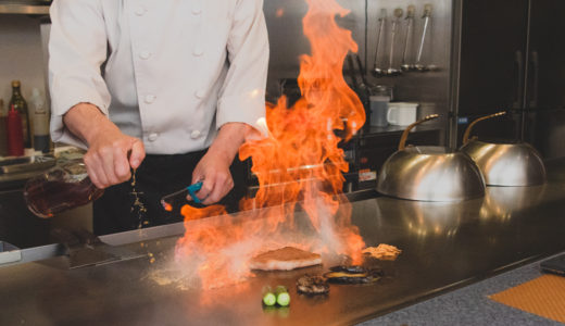 豊富なメニューを五感で楽しめる、本格鉄板料理【てっぱん吉吉】